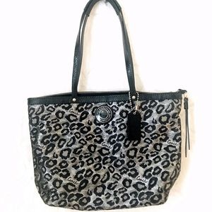 Coach | Animal Print Handbag